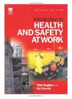 Cover image for Introduction to health and safety at work : the handbook for the NEBOSH national general certificate