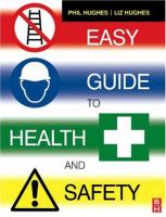 Cover image for Easy guide to health and safety