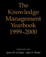 Cover image for The knowledge management yearbook