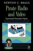 Cover image for Pirate radio and video : experimental transmitter projects