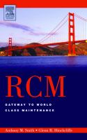 Cover image for RCM :  gateway to world class maintenance