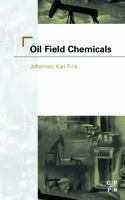 Cover image for Oil field chemicals
