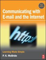 Cover image for Communicating with email and the internet