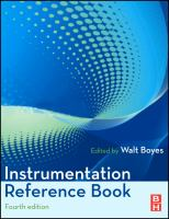 Cover image for Instrumentation reference book