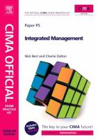 Cover image for Integrated management