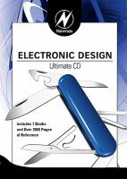 Cover image for Electronic design ultimate CD