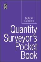 Cover image for Quantity surveyor's pocket book