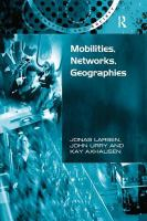 Cover image for Mobilities, networks, geographies