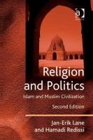 Cover image for Religion and politics : Islam and Muslim civilization