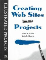 Cover image for Creating web sites projects : illustrated projects