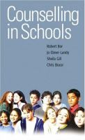 Cover image for Counselling in schools