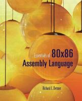 Cover image for Essentials of 80x86 assembly language