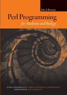 Cover image for Perl programming for medicine and biology