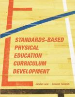 Cover image for Standards-based physical education curriculum development