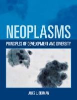 Cover image for Neoplasms : principles of development and diversity