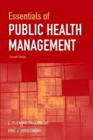 Cover image for Essentials of public health management