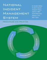 Cover image for National Incident Management System : Principles and Practice