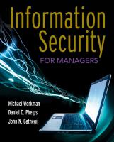 Cover image for Information security for managers