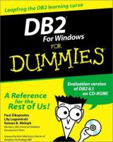 Cover image for DB2 for windows for dummies