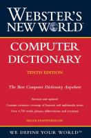 Cover image for Webster's new world computer dictionary