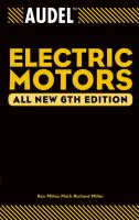 Cover image for Audel electric motors