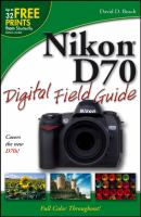 Cover image for Nikon D70 digital field guide