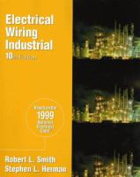Cover image for Electrical wiring : industrial