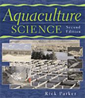 Cover image for Aquaculture science
