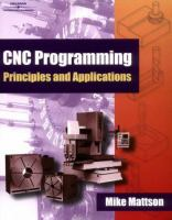 Cover image for CNC programming principles and applications