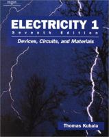 Cover image for Electricity : devices, circuits, and materials