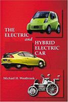 Cover image for The electric and hybrid electric car