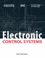 Cover image for Electronic control systems