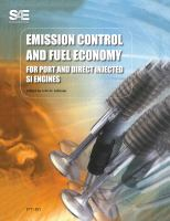 Cover image for Emission control and fuel economy for port and direct injected SI engines PT-91