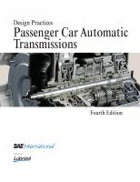 Cover image for Design practices : passenger car automatic transmissions