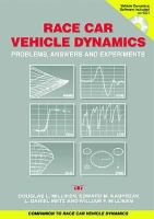 Cover image for Race car vehicle dynamics problems, answers and experiments