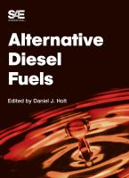Cover image for Alternative diesel fuels