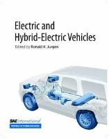 Cover image for Electric and hybrid-electric vehicles