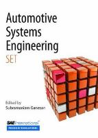 Cover image for Automotive systems engineering