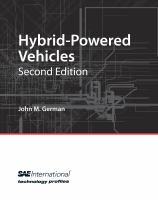 Cover image for Hybrid-powered vehicles.