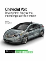Cover image for Chevrolet Volt : development story of the pioneering electrified vehicle