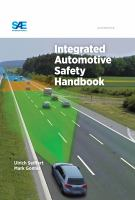 Cover image for Integrated automotive safety handbook