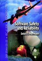 Cover image for Software safety and reliability : techniques, approaches, and standards of key industrial sectors