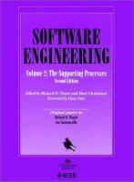 Cover image for Software engineering