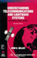 Cover image for Understanding telecommunications and lightwave systems : an entry-level guide