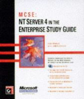 Cover image for MCSE : NT server 4 in the enterprise study guide