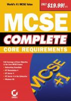 Cover image for MCSE complete : core requirements