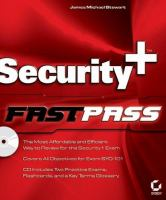 Cover image for Security+ fastpass