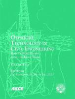 Cover image for Offshore technology in civil engineering : half of fame papers from the early years