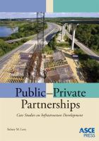 Cover image for Public-private partnerships : case studies on infrastructure development