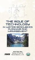 Cover image for The role of technology in water resources planning and management